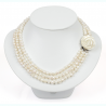 NECKLACE NACRE PEARLS