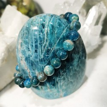 Bracelet en pierre naturelle apatite