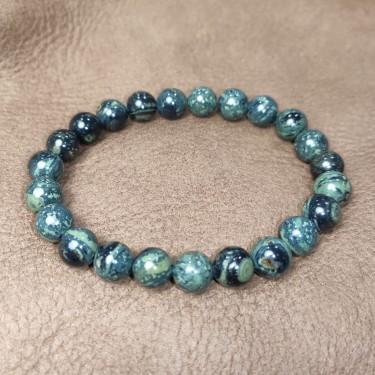 Bracelet pierre jaspe kambala