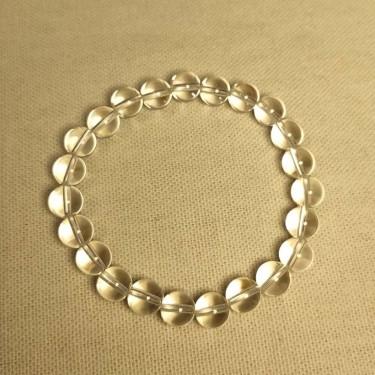 Bracelet pierre naturelle cristal de roche