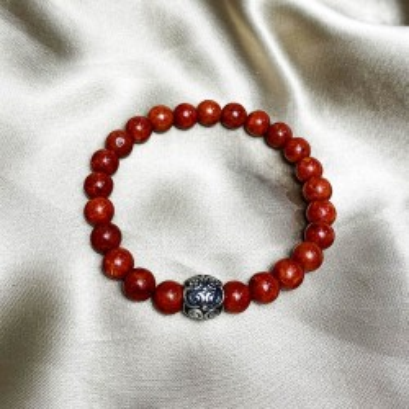 Bracelet pierre naturelle et acier