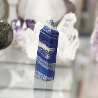 Pique objet décoratif en lapis lazulis