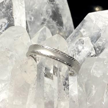 Bague acier inoxydable anneau