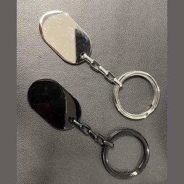 Porte-clé en acier inoxydable